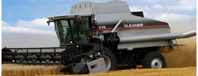 combine, wheat, Gleaner